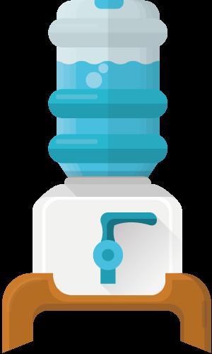 Настольный кулер для питьевой воды