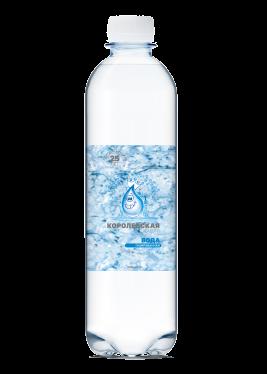 Королевская вода питьевая для спорта 0,5 л