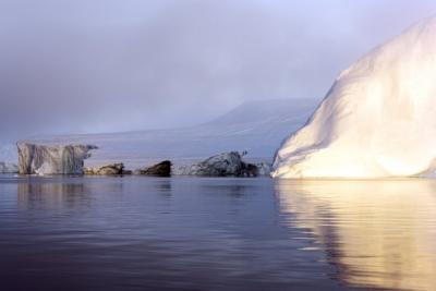 Ледники в арктическом океане