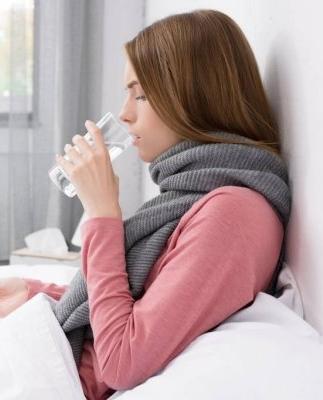 Употребление воды при простуде