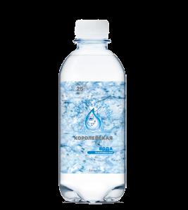 Королевская вода питьевая газированная 0,33 л